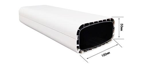 全遮光100X50中空节能水培管道