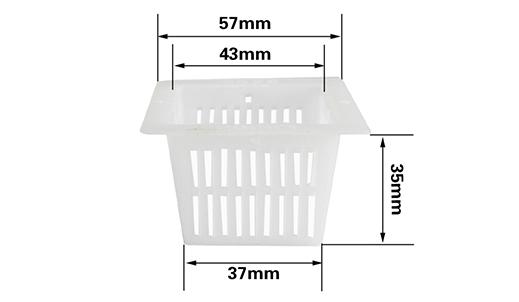 4号方形定植篮