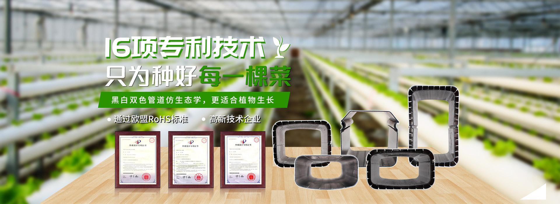 荣成农业-16项专利设备,只为种好每一颗菜