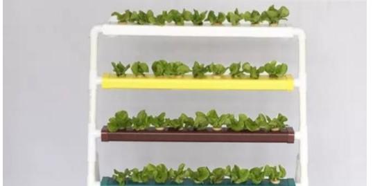 管道式水培蔬菜种植架,你还在不知道选什么?