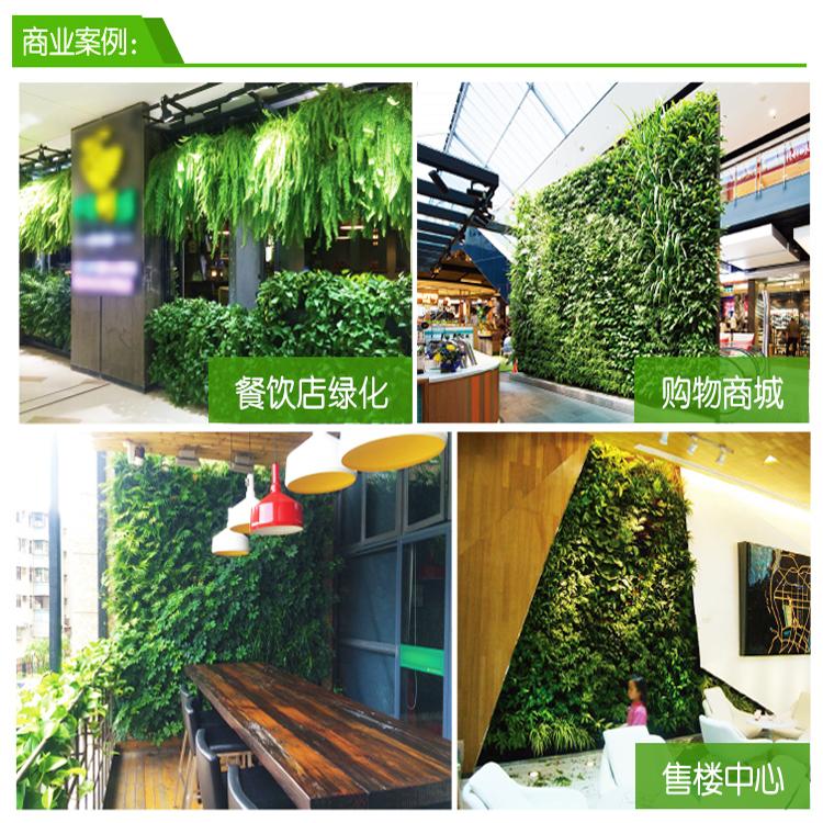 垂直壁挂式组合绿化花盆